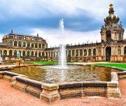 Dresden, Zwinger museum in Germany