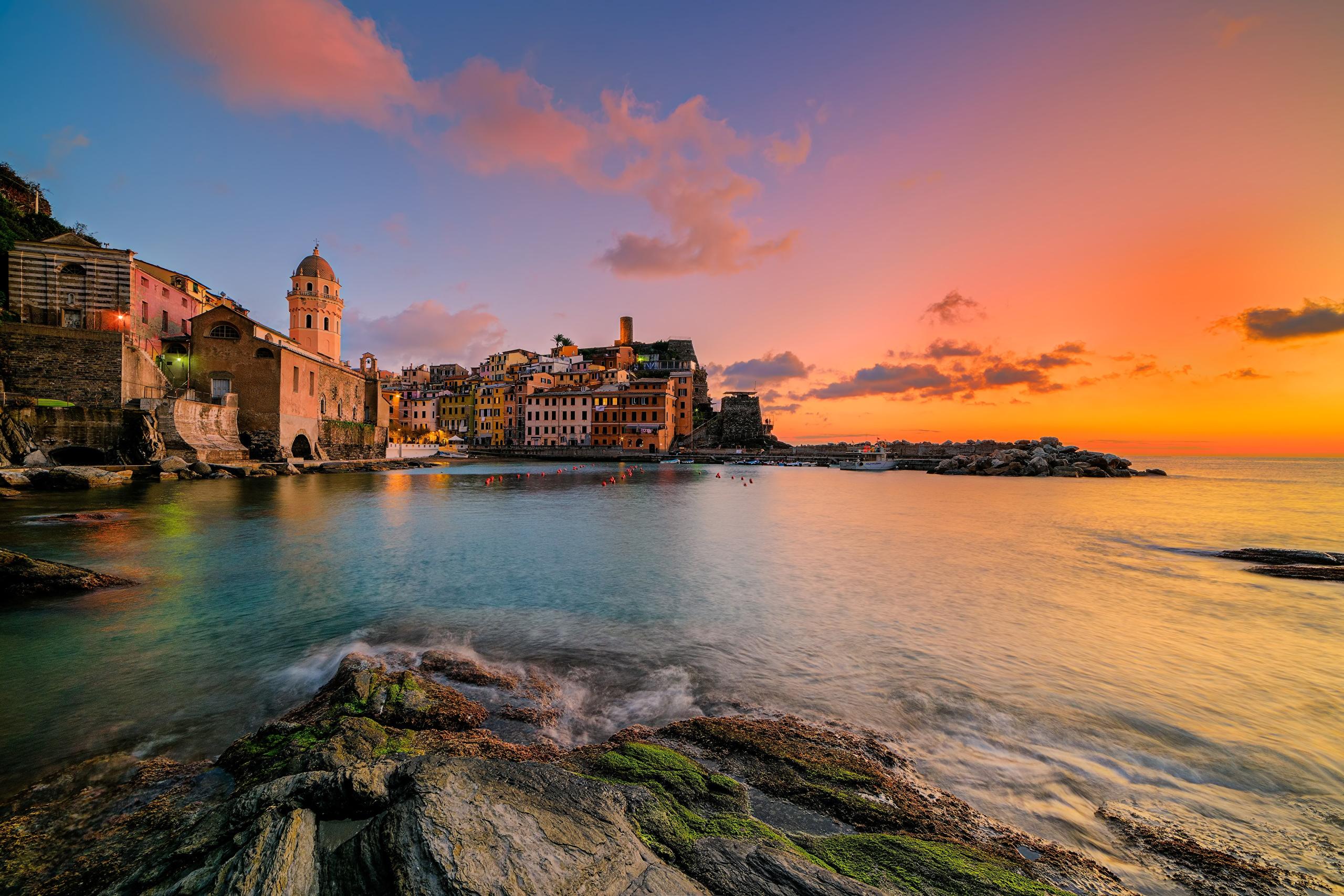 Coast_Houses_Italy_Sea_510360